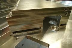 machining sample - alum boxes